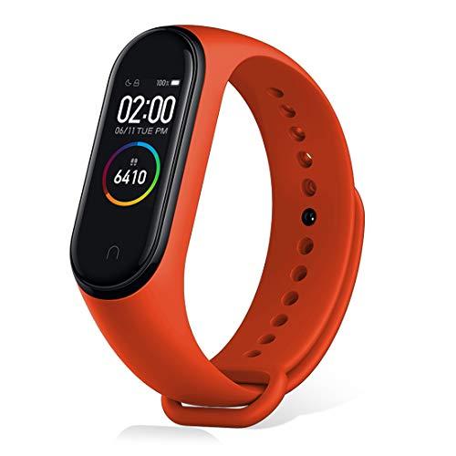 Xiaomi Mi Band 4 Aktivitäts-Tracker, Aktivitätsmonitore, Herzfrequenzmesser-Fitness-Tracker, Smartwatch mit 0,95-Zoll-AMOLED-Farbbildschirm, mit iOS und Android
