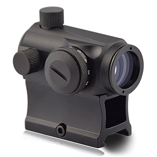 OTW Red Dot Sight,1x20mm 4 MOA Red Green Dot Sight Micro Rifle Scope