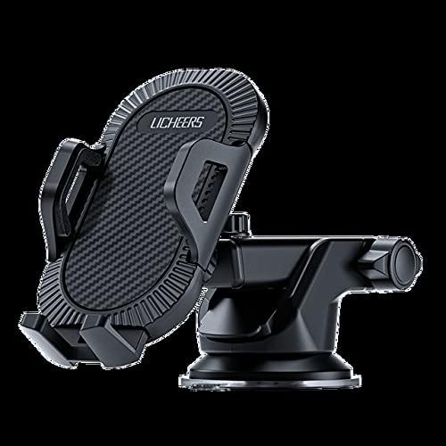 hclshops Sucker - Soporte para teléfono móvil para coche, sin soporte magnético GPS (color de ventosa)