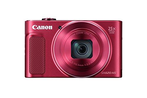 "Canon PowerShot SX620 HS Fotocamera compatta 20.2MP 1/2.3"" CMOS 5184 x 3888Pixel Rosso - Versione UK"