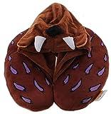 Cuscino di sostegno per collo bambino Gruffalo con cappuccio