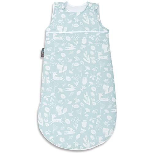 Saco de Dormir para bebé - Cápsula para Cama Infantil 100% algodón con Relleno de poliéster y Cremallera Lateral - Manta Envolvente para Llevar - Suave, cómoda, Apta para Viajes - 38 cm x 75 cm
