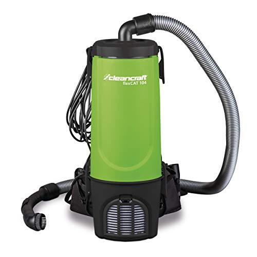 Cleancraft Spezialsauger flexCAT 104, Behälter 4 l, mit Tragegurt, Rucksacksauger, umfangreiches Zubehör, 7003115