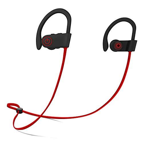 Firstop Auriculares Bluetooth, Audífonos Inalámbricos Impermeables IPX7, Auriculares con Reducción de…