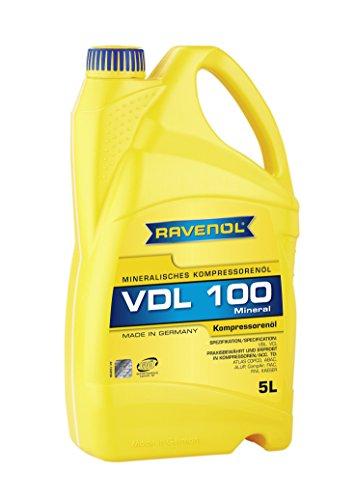 RAVENOL Kompressoren-Öl VDL 100 (5 Liter)