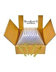 Lijmsticks 11mm transparant 2 kg I 100 stuks 11mm transparant helder I industriële kwaliteit Ø 11 x 200 mm I gemaakt in Duitsland I gratis houten bladwijzer I kleefpatronen 11mm