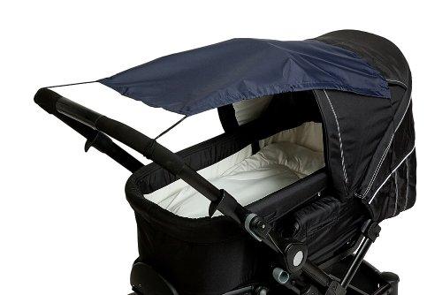 Altabebe AL7010-01 Sonnensegel mit UV Schutz für Kinderwagen/Buggys, marine