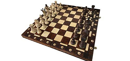 ポーランド製 ハンドメイド・チェスセット Wegiel Chess Ambasador (アンバサダー)日本正規品