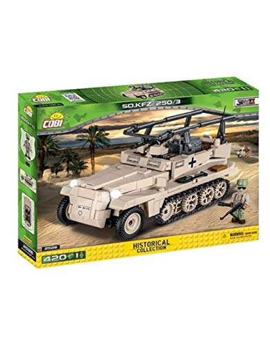 Cobi Maqueta tanque SD.KFZ 250/3 Historical Collection. Mod