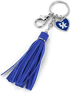 aminco University of Kentucky Tassel Key Chain Purse Charm