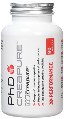 PhD Nutrition Creapure Creatine, 90 Capsules
