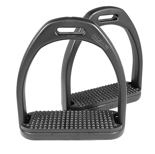 Kunststoff-Steigbügel, schwarz Full