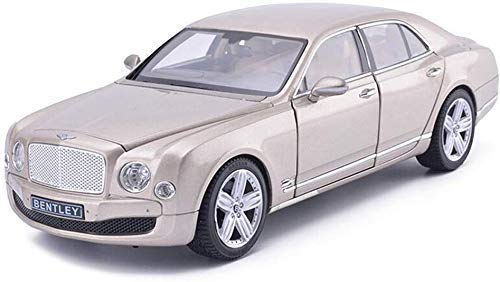 Modelo de auto Modelo de coche for niños, coches Juguetes for niños niñas 1/18 Escala Bentley Mul