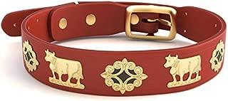 Alpen Schatz Swiss RD-MED-RB23 Original Brass Contemporary Dog Collar, 23