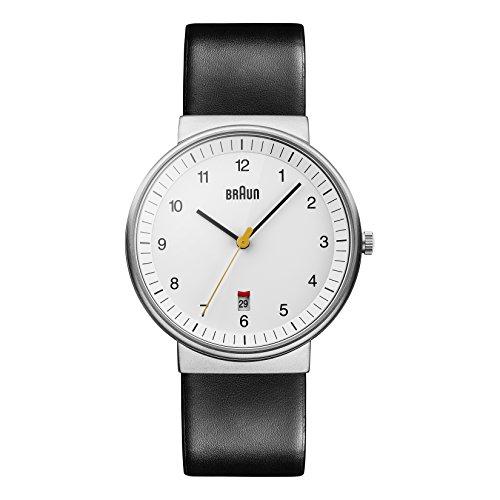 Braun Herren Analog Quarz Armbanduhr BN0032WHBKG