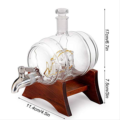 BLI Wein Dekanter Set 1000ml Haushalt Rot Weißwein Scotch Bourbon Whisky Liqour Pourer Home Bar Wodka Bierfass1