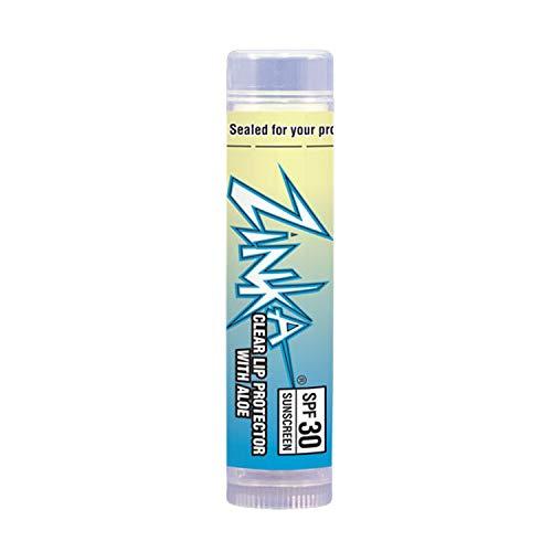 Zinka SPF 30 Zinc Oxide Lip Balm - Clear