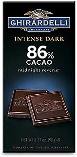 Ghirardelli Dark Chocolate 86% Cacao Bar, 3.17 oz.