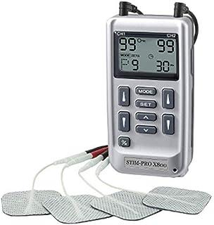 Electroestimulador digital TENS EMS 24 programas para control del dolor y electroestimulación muscular