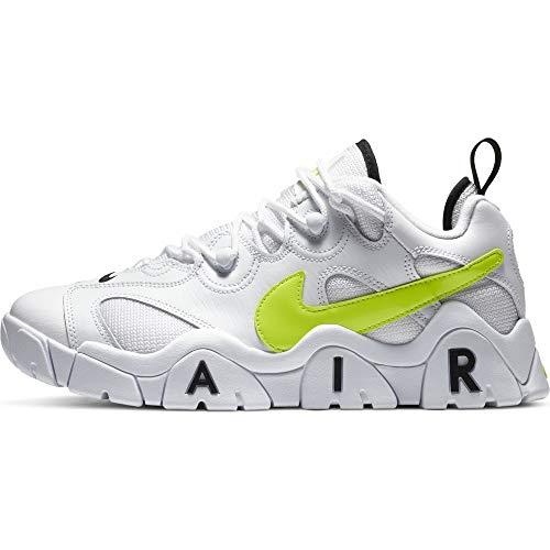 Nike Air Barrage Low, Zapatillas de básquetbol para Hombre, White Volt Black, 40 EU