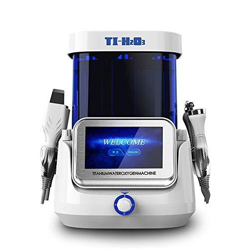 L&B-MR Ultra-Micro-Hydrogène Oxygène Petite Bulle Beauté Instrument Points Noirs Visage Institut De Nettoyage Nettoyage Titane Hydrogène Super-Hydrogène Compteur d'eau, Blanc