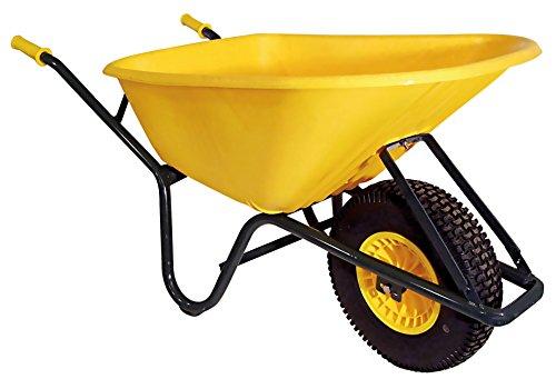 Altrad kruiwagen polyethyleen amarill Altrad 100 L