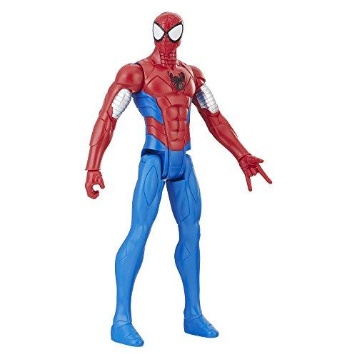 Marvel Figur Titan Power Armored Spiderman, 30 cm groß