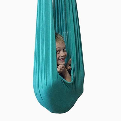 WWL Columpio sensorial interior terapia columpio anti-gravedad Yoga Hamaca Swing Terapia Yoga Gimnasio Hamaca Para Autismo TDAH Swing Hamacas Niños y Adolescentes Hamaca Interior Terapia Swing