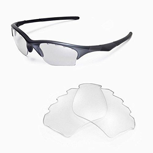 Walleva vervangende geventileerde lenzen of lenzen/rubberen kit voor Oakley halve jas XLJ zonnebril