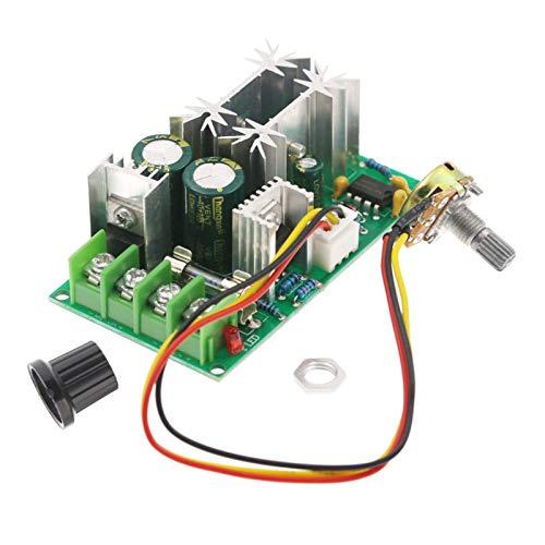 Milageto 10-60V 20A PWM CC controlador de velocidad de la bomba del Motor regulador del módulo de accionamiento de alto par