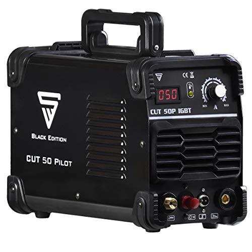 STAHLWERK CUT 50 Pilot IGBT Plasmaschneider mit Pilotzündung und 50 Ampere, bis 14 mm Schneidleistung, für Lackierte Bleche & Flugrost geeignet, 7 Jahre Garantie*
