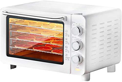 ZLSP Deshidratador de alimentos eléctricos, máquina de secado de frutas de fabricante de carne de ternera, conservador de alimentos con temperatura y ajuste de tiempo for carne, secadora de hierbas, f