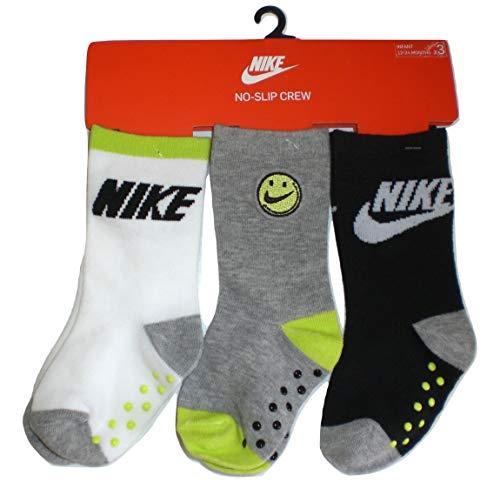 Nike Juego de 3 calcetines antideslizantes 6 meses/4 años NN0479 042 fantasía