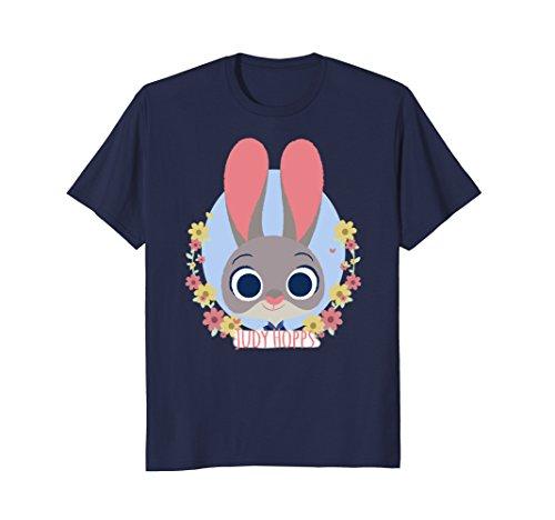 Disney Zootopia Judy Hopps Spring Wreath Graphic T-Shirt