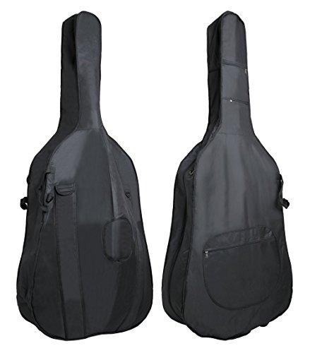 Pure Gewa PS240001 - Funda para contrabajo Classic CS 01 negro para tamaño 3/4