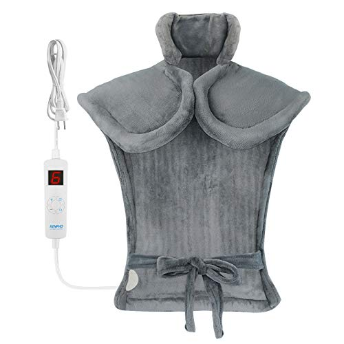 """RENPHO Large Heating Pad for Back Relief, 24""""x33"""