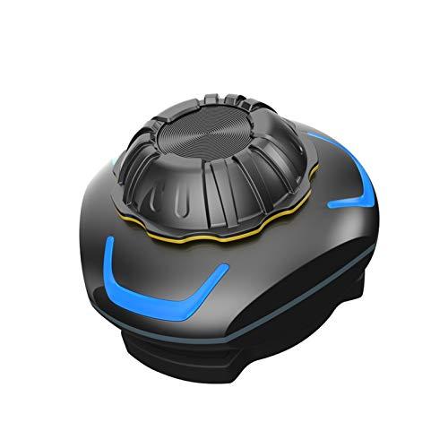 decor Aire Abrir-Oreja Mini Motocicleta Casco Impermeable Bluetooth Auricular Auricular Cancelación Cancelación...