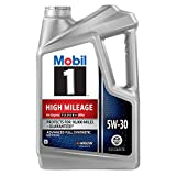 Best Synthetic Engine Oils - Mobil 1 (120769) High Mileage 5W-30 Motor Oil Review