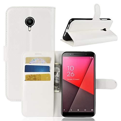 Manyip Funda Vodafone Smart N9 Lite, Suave PU Leather Cuero con Flip Cover, Cierre Magnético, Función de Soporte,Billetera Case con Tapa para Tarjetas,Case Cover para Vodafone Smart N9 Lite
