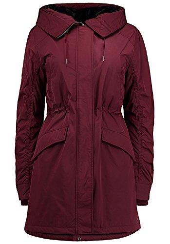 O'Neill Parka winterjas rood Faux voor Lined verwarmend
