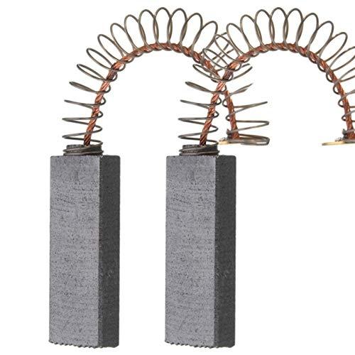 Pieza de repuesto de escobilla de carbón 2 UNIDS / SET REPOSITIVO Cepillos de carbón de motor eléctrico de reemplazo 32 mm x 11 mm x 6 mm for herramienta de energía Muela Accesorios Reparación de repu