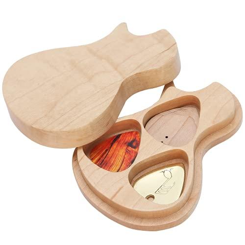 Jopwkuin Caja De Selección De Guitarra, Caja De Selección De Guitarra Duradera De Arce para Regalos