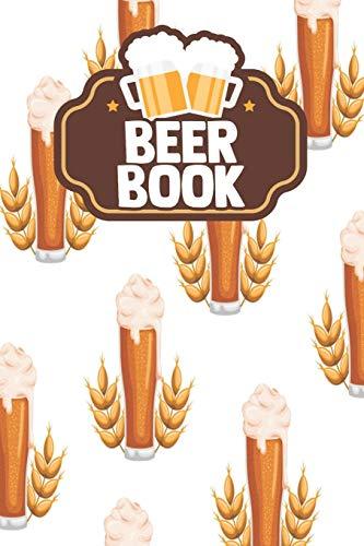 Beer Book: Unique Gifts Women Men Ipa Adult Boyfriend Grownups Hand Crafted...
