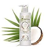 Tropicana Oil Natürliche Kokosöl Duschcreme 240 ml | Kaltgepresstes natives Kokos Öl, Aloe Vera...