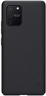 Nillkin Super Frosted Shield Ultra Thin Hard Plastic Matte Back Cover Case for Samsung Galaxy S10 Lite (Black)
