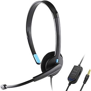 WHSS Remplacement for Playstation 4 PS4 X-One Over-Oreille Filaire écouteur du Casque Gaming Headset PC Gamer Jeu Vidéo Dé...
