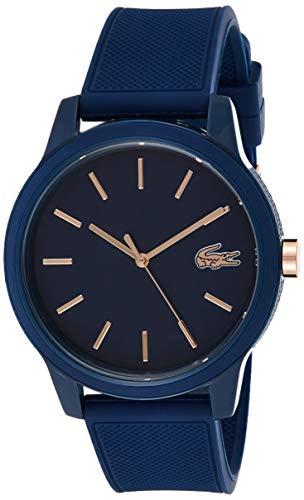 Lacoste Hommes Analogique Quartz Montres bracelet avec bracelet en Silicone - 2011011