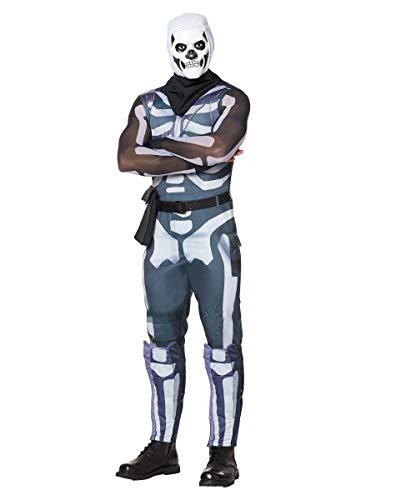 Spirit Halloween Adult Fortnite Skull Trooper Costume - M