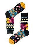 Krayzie Sox - bunte, Socken/Strümpfe - für Damen & Herren (Hippie)