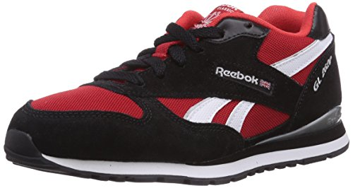 Reebok GL 2620, Unisex-Kinder Sneakers, Rot (Red Rush/Black/White/Silver Met), 38 EU (5.5 UK/6 US)